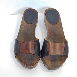 """Frye Ellie"""" slide sandals"""